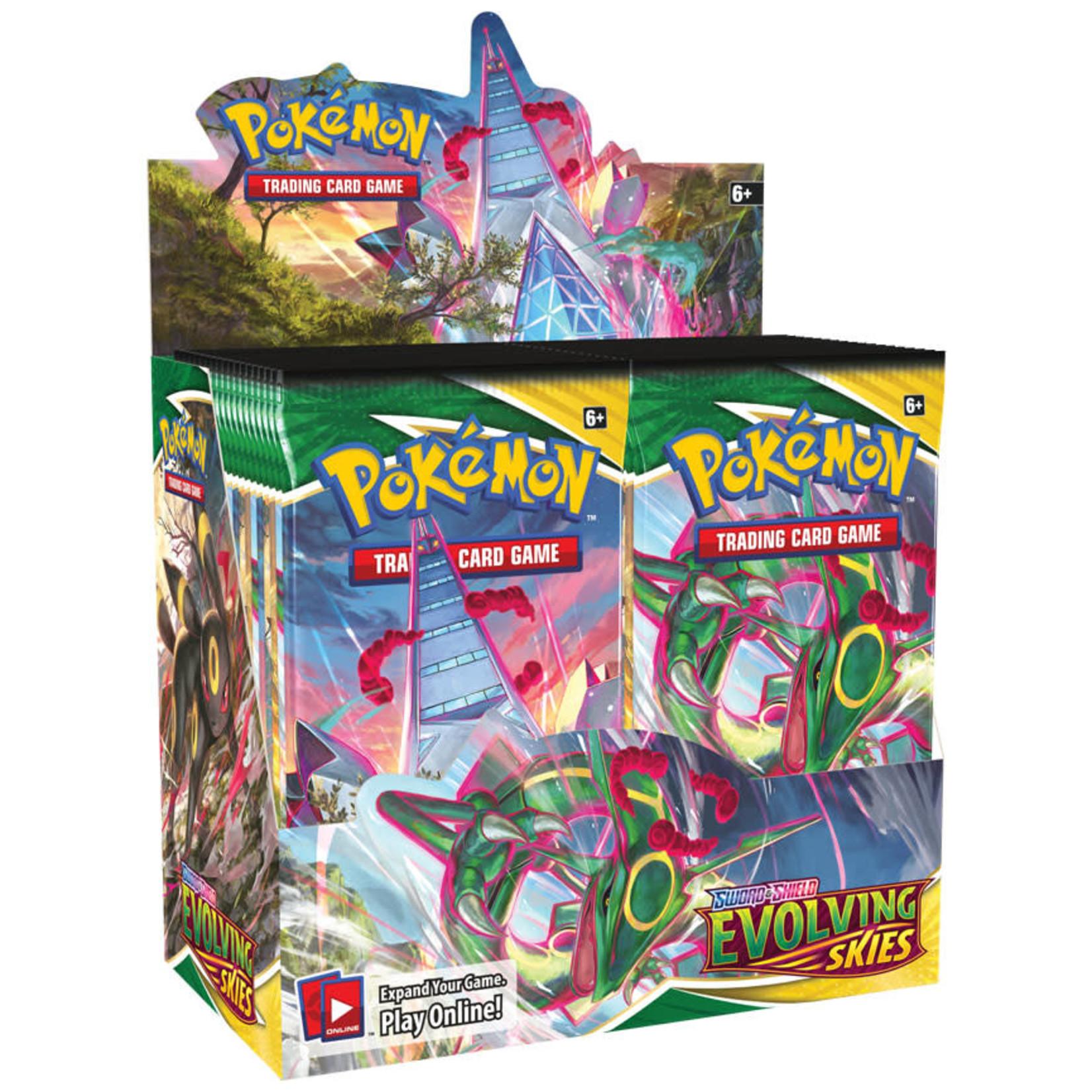 Pokémon Pokémon TCG: Sword & Shield—Evolving Skies Booster Box
