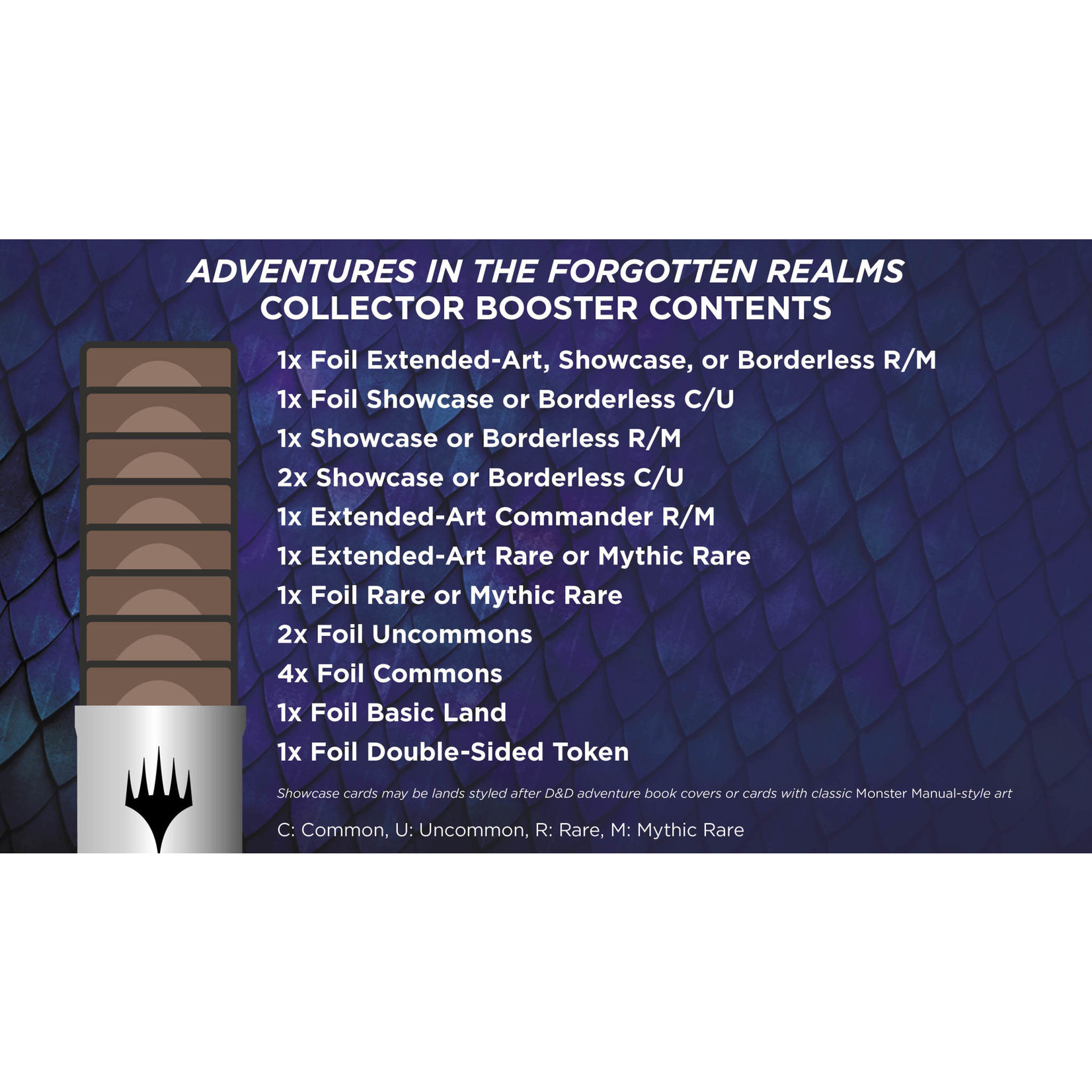Magic: The Gathering Magic: The Gathering - Adventures in the Forgotten Realms Collector Booster Box