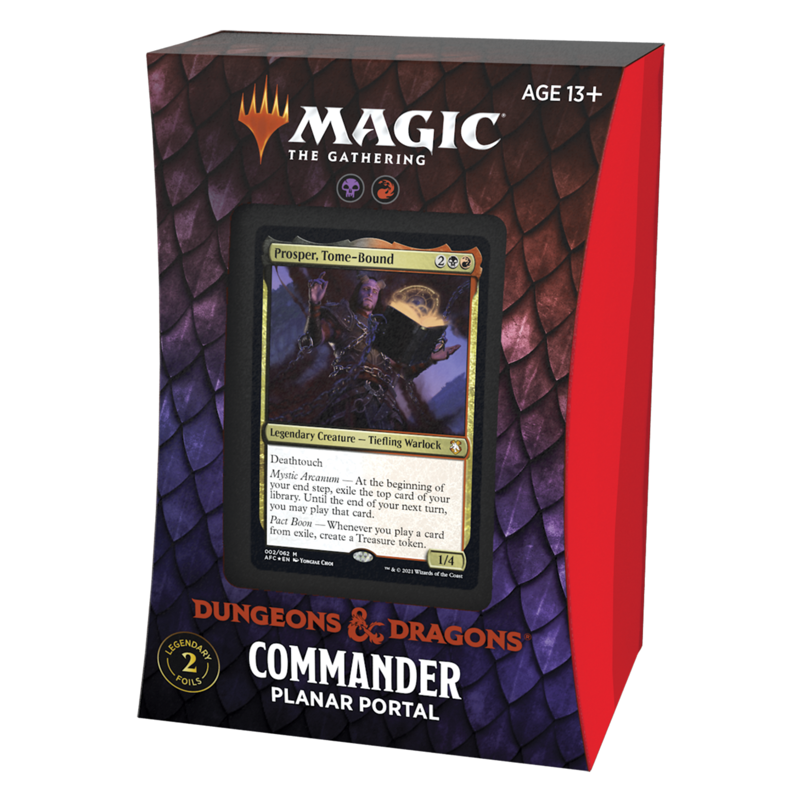 Magic: The Gathering Magic: The Gathering - Adventures in the Forgotten Realms Commander Deck - Planar Portal