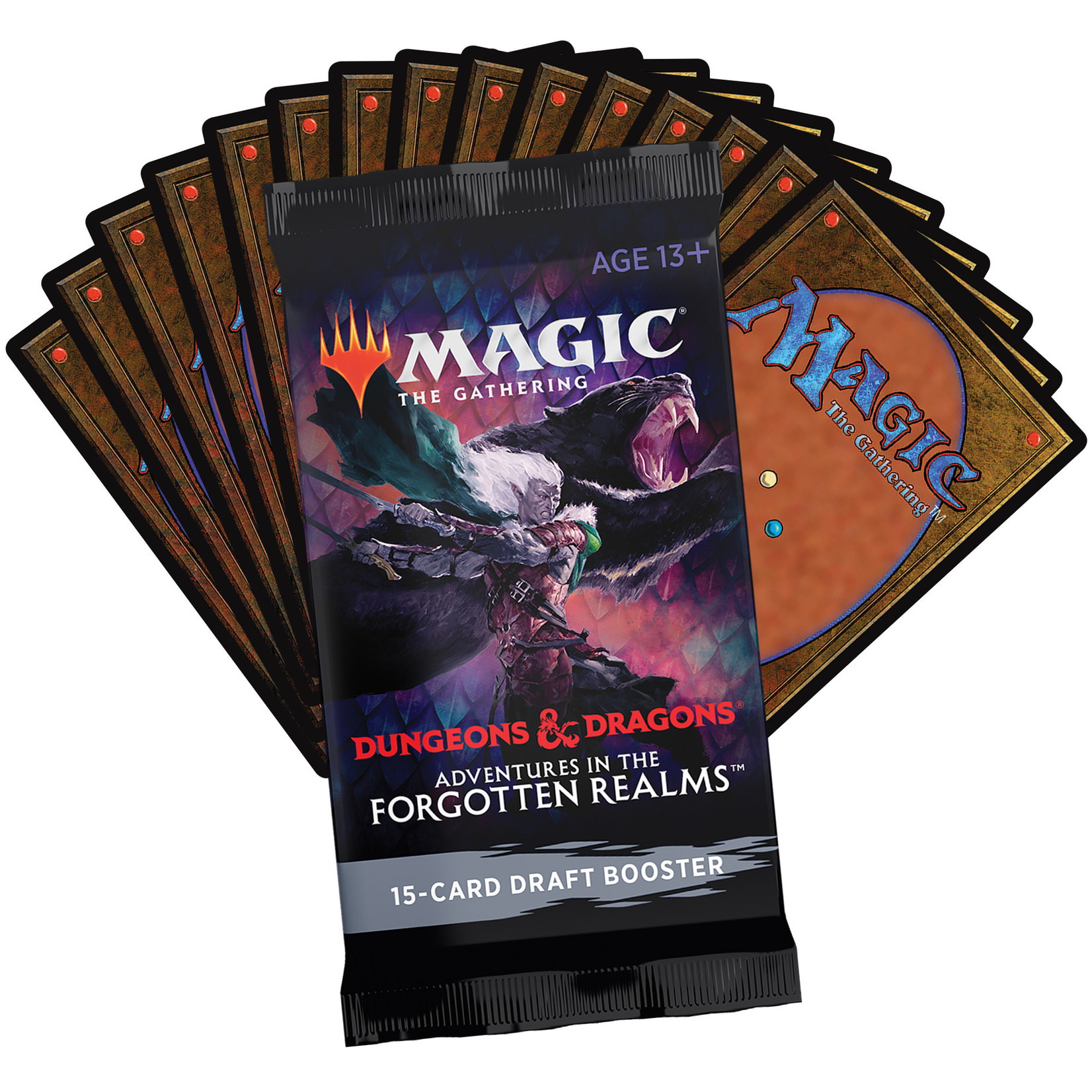 Magic: The Gathering Magic: The Gathering - Adventures in the Forgotten Realms Draft Booster Pack