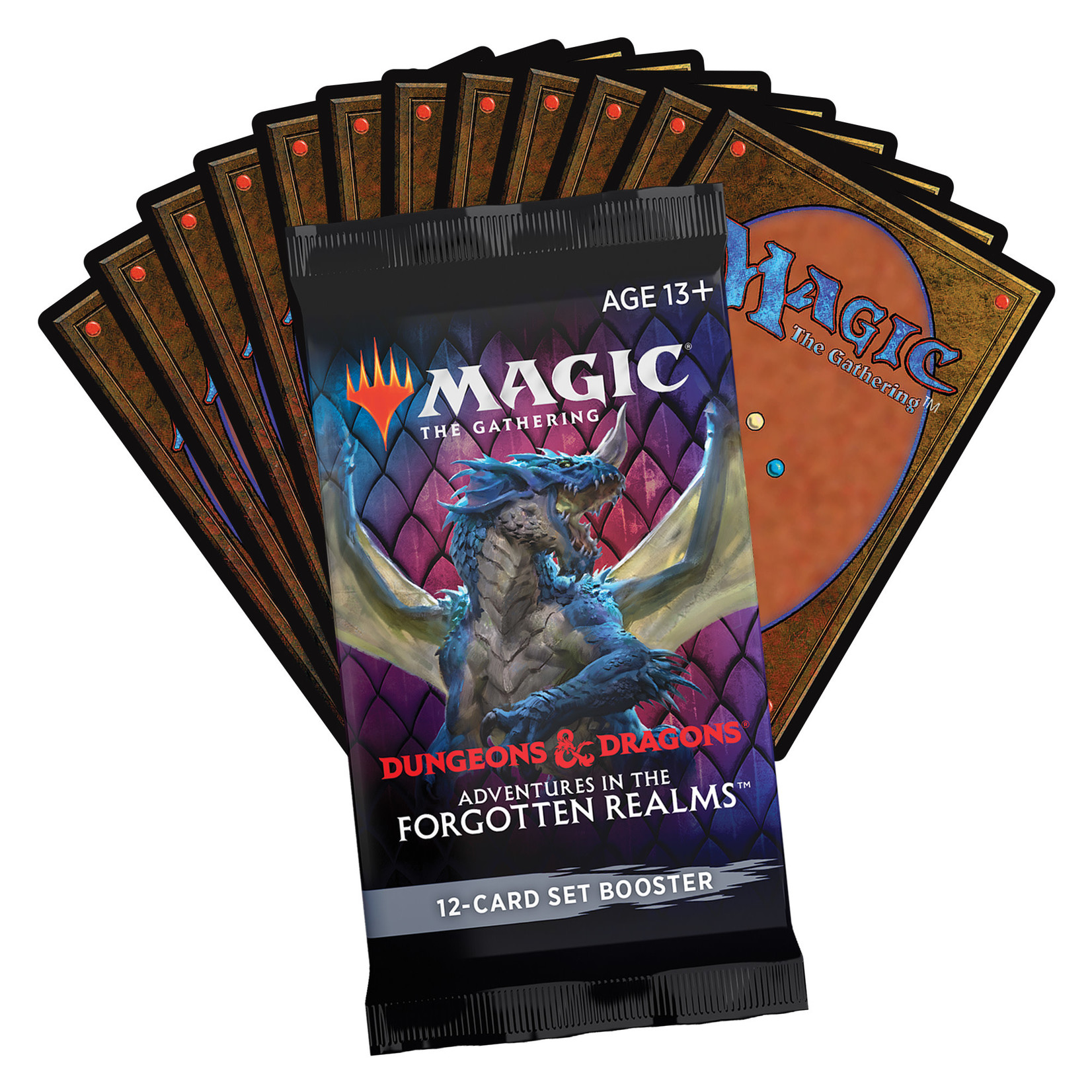 Magic: The Gathering Magic: The Gathering - Adventures in the Forgotten Realms Set Booster Box