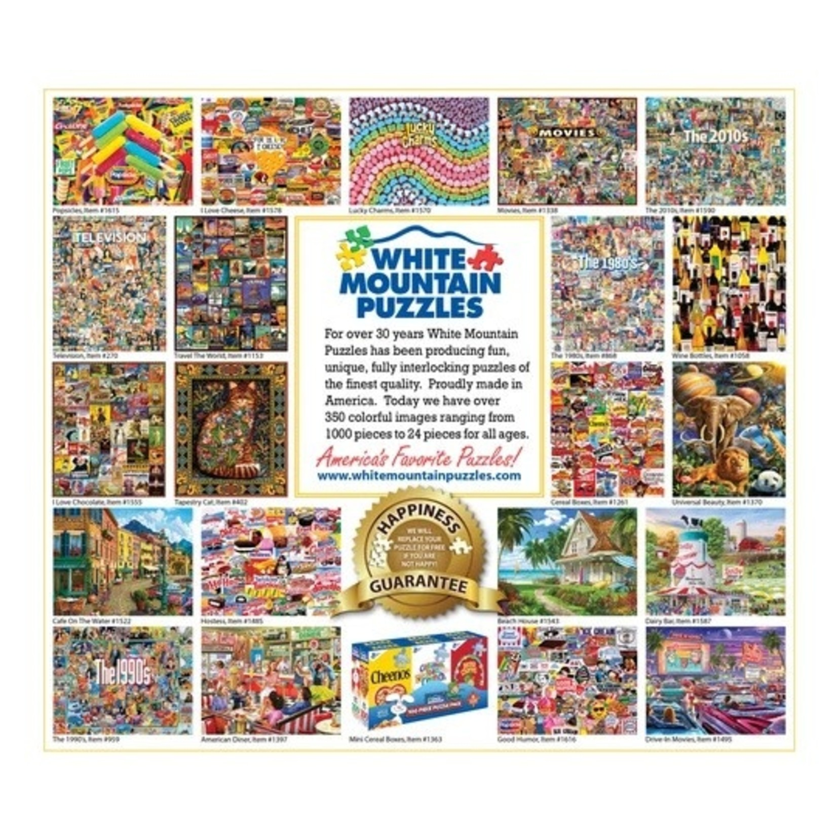 White Mountain Puzzles World of Dogs 1000p