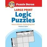 Penguin Random House Puzzle Baron Large Print Logic Puzzles