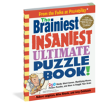 Workman Publishing The Brainiest Insaniest Ultimate Puzzle Book