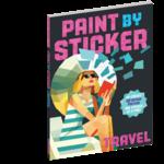 Workman Publishing Paint by Sticker Travel