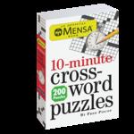 Workman Publishing Mensa 10-Minute Crosswords