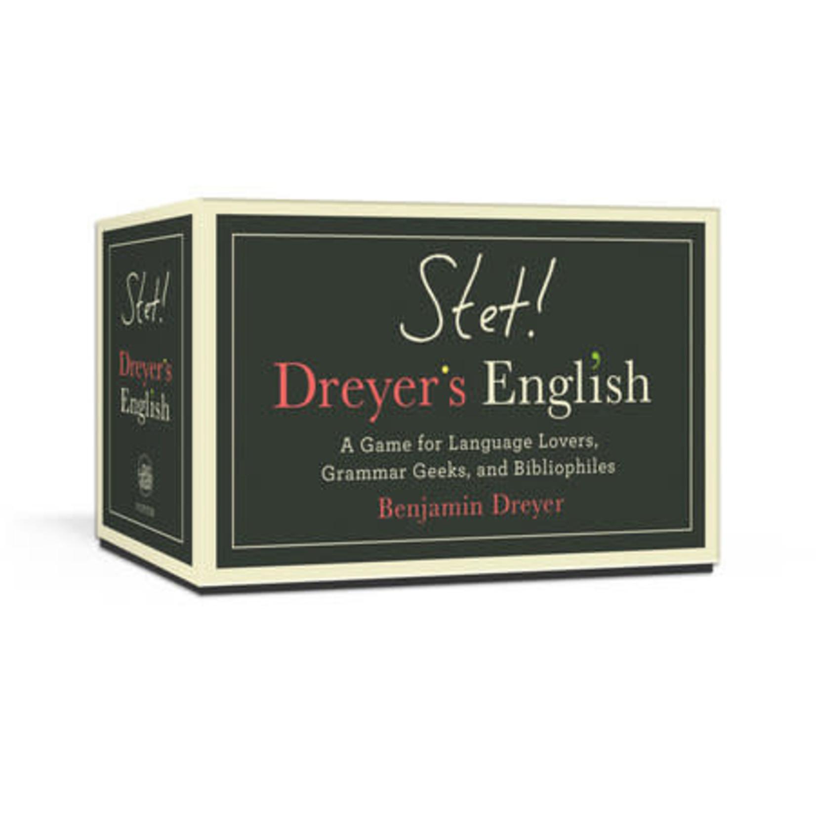 Penguin Random House Stet! Dreyer's English
