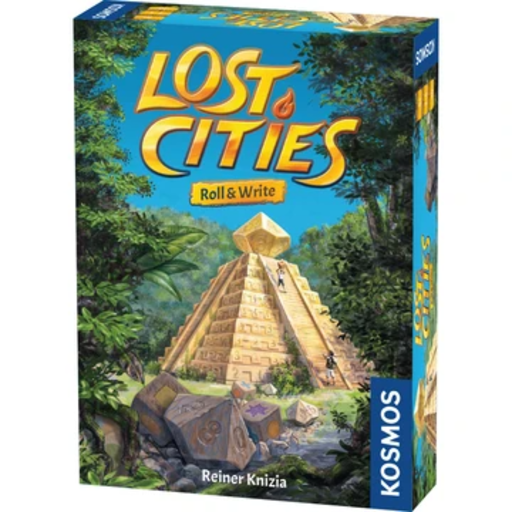 Thames & Kosmos Lost Cities: Roll and Write