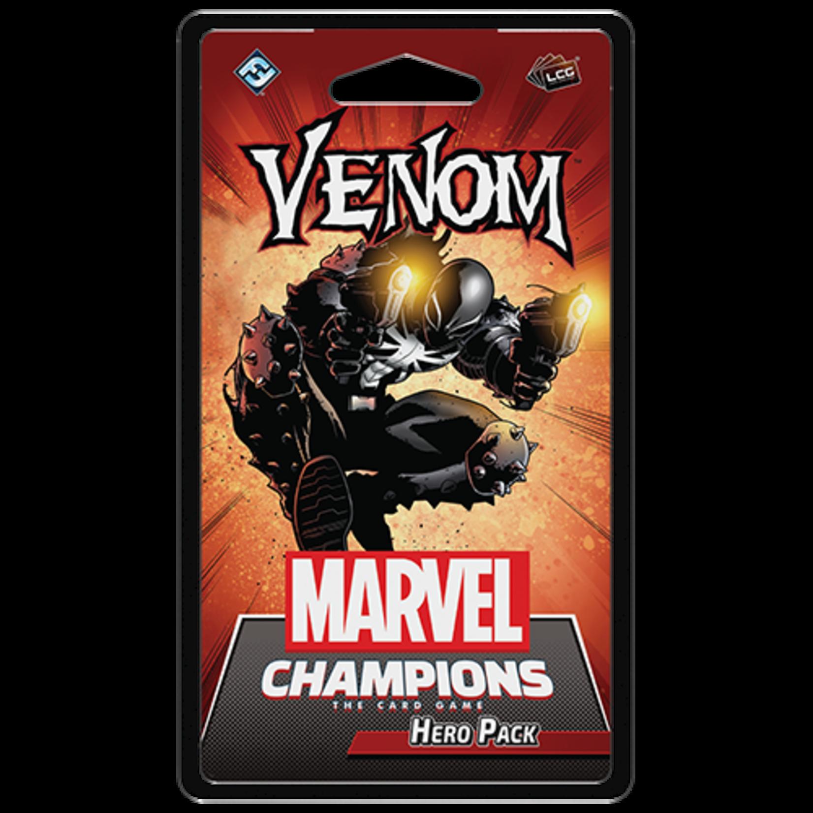 Fantasy Flight Games Marvel Champions LCG Hero Pack- Venom