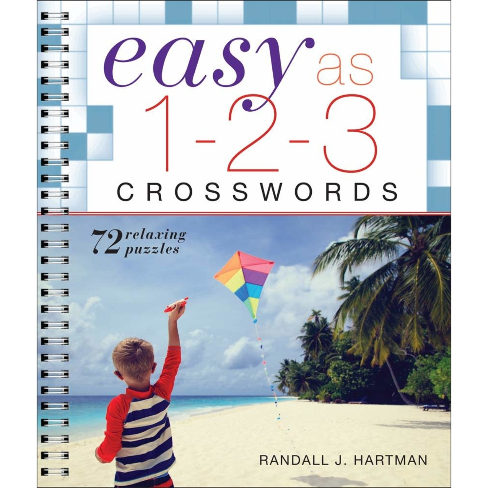 Sterling Publishing Easy as 1-2-3 Crosswords