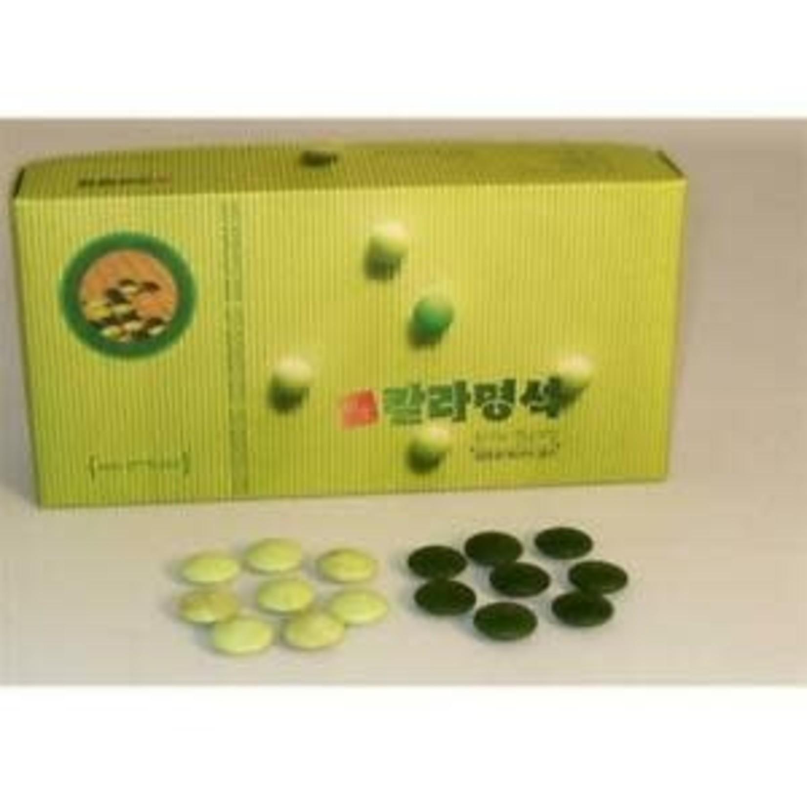 Worldwise Imports Go Stones Glass Green/Jade (8mm x 22mm)