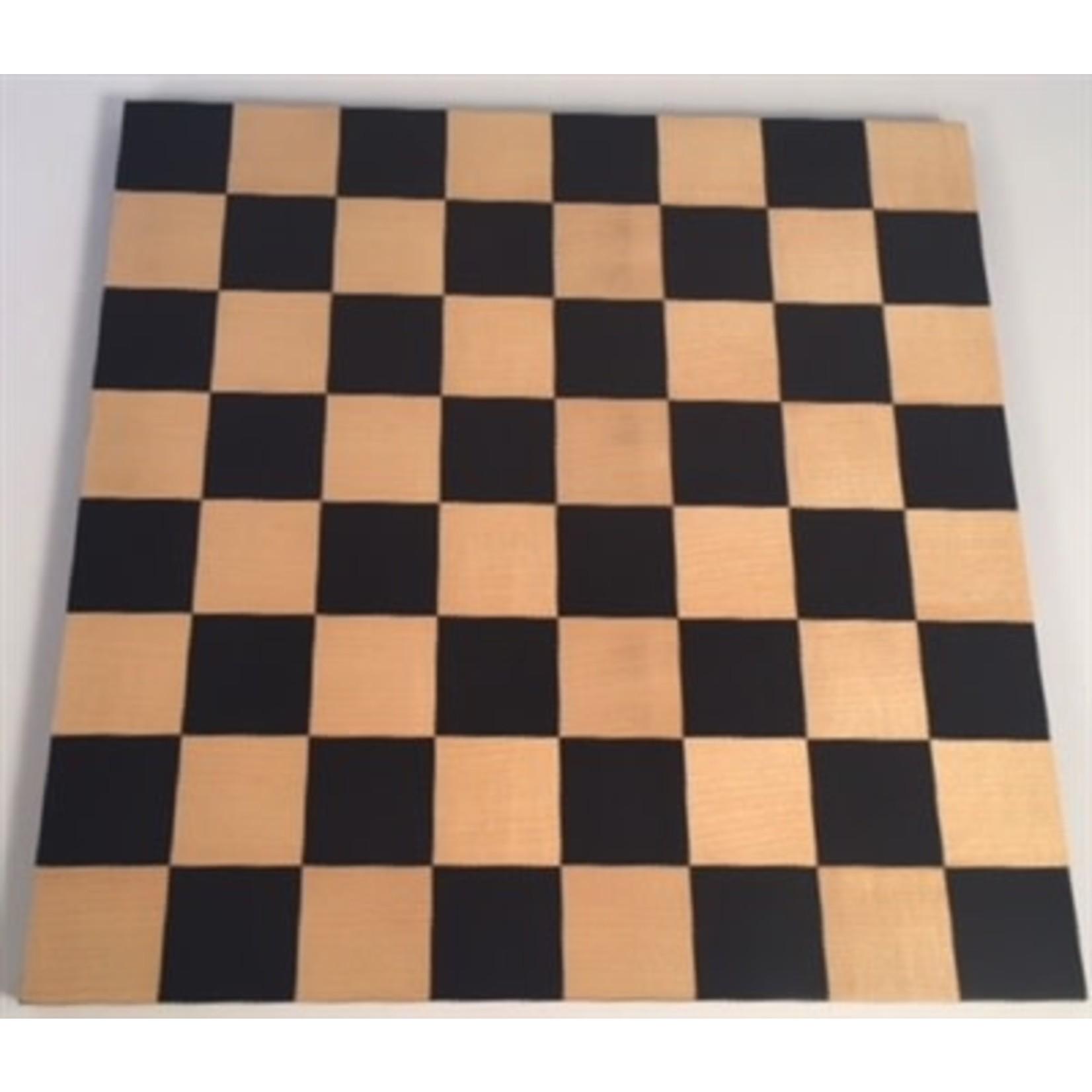 "Worldwise Imports Chess Board 14"" Black & Maple"