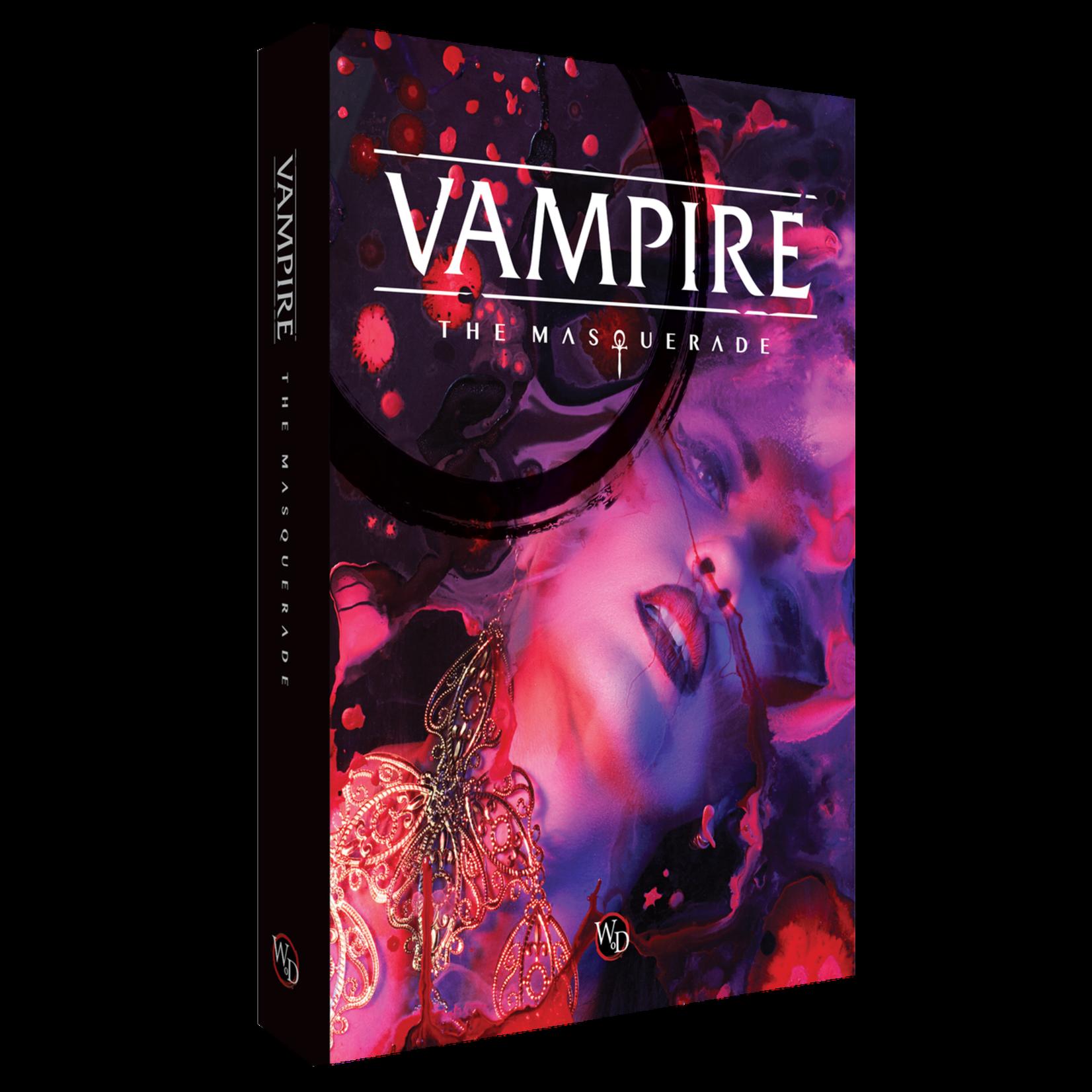 Renegade Vampire the Masquerade 5th Edition Core Rulebook HC