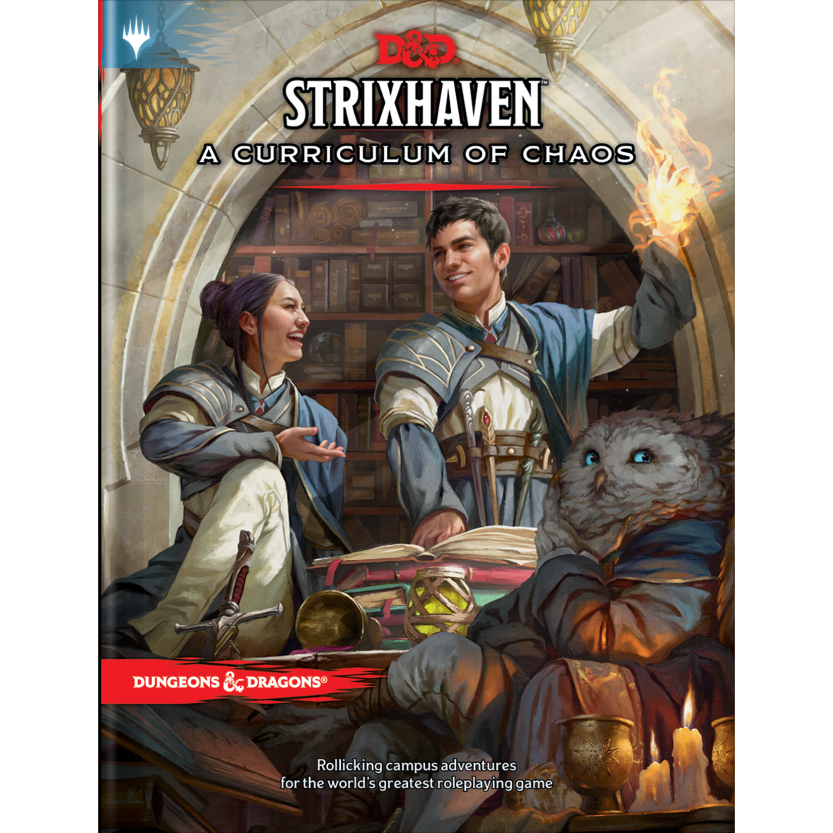 Dungeons & Dragons Dungeons & Dragons 5th Edition: Strixhaven: A Curriculum of Chaos (Regular Cover)