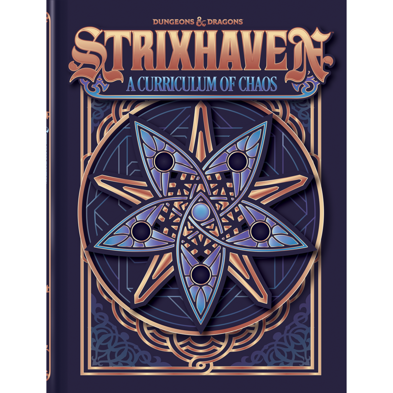 Dungeons & Dragons Dungeons & Dragons 5th Edition: Strixhaven: A Curriculum of Chaos (Alternate-Art Cover)