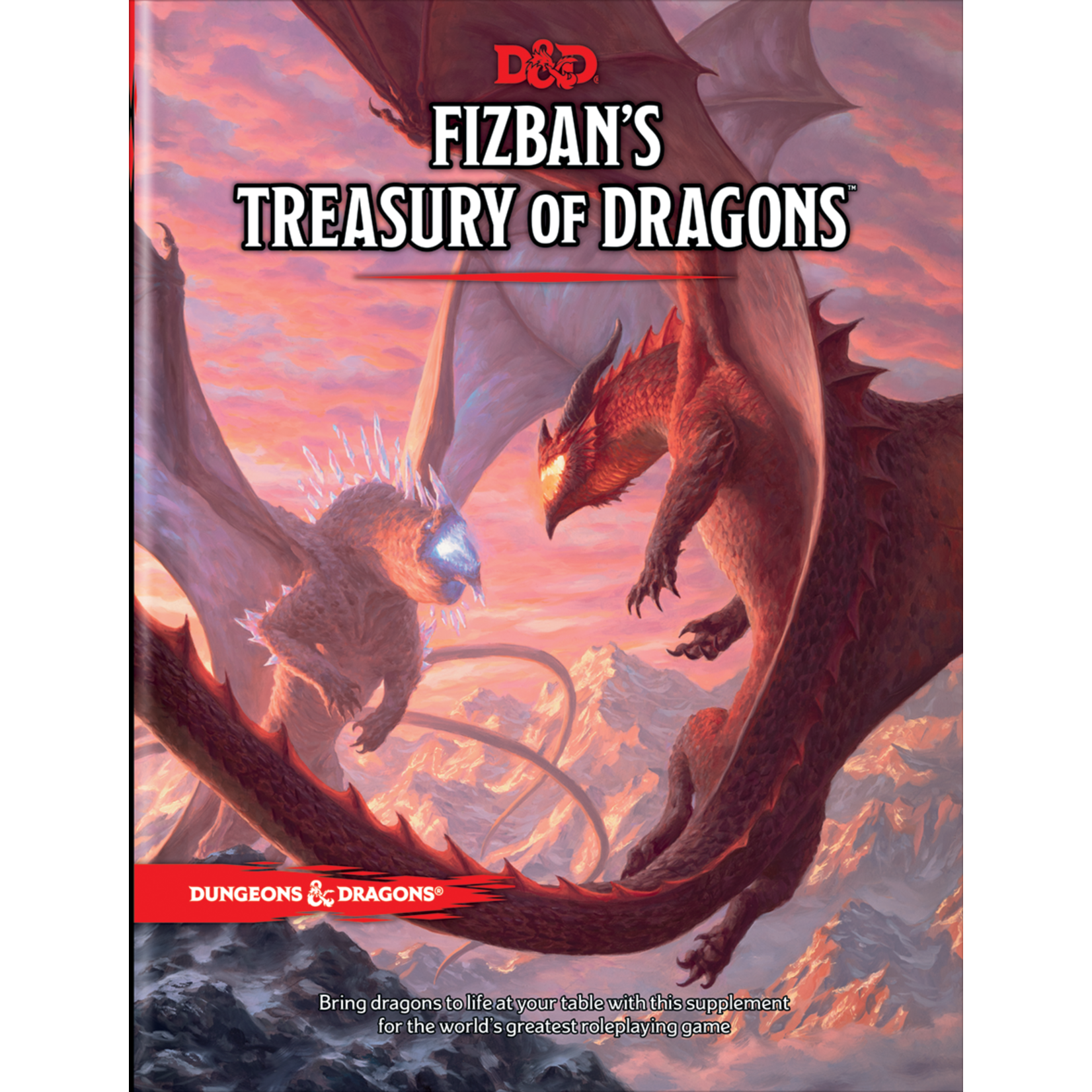 Dungeons & Dragons Dungeons & Dragons 5th Edition: Fizban's Treasury of Dragons (Regular Cover)