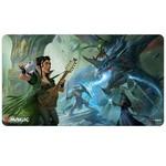 Ultra Pro Playmat MTG AFR V1 The Party Fighting Blue Dragon