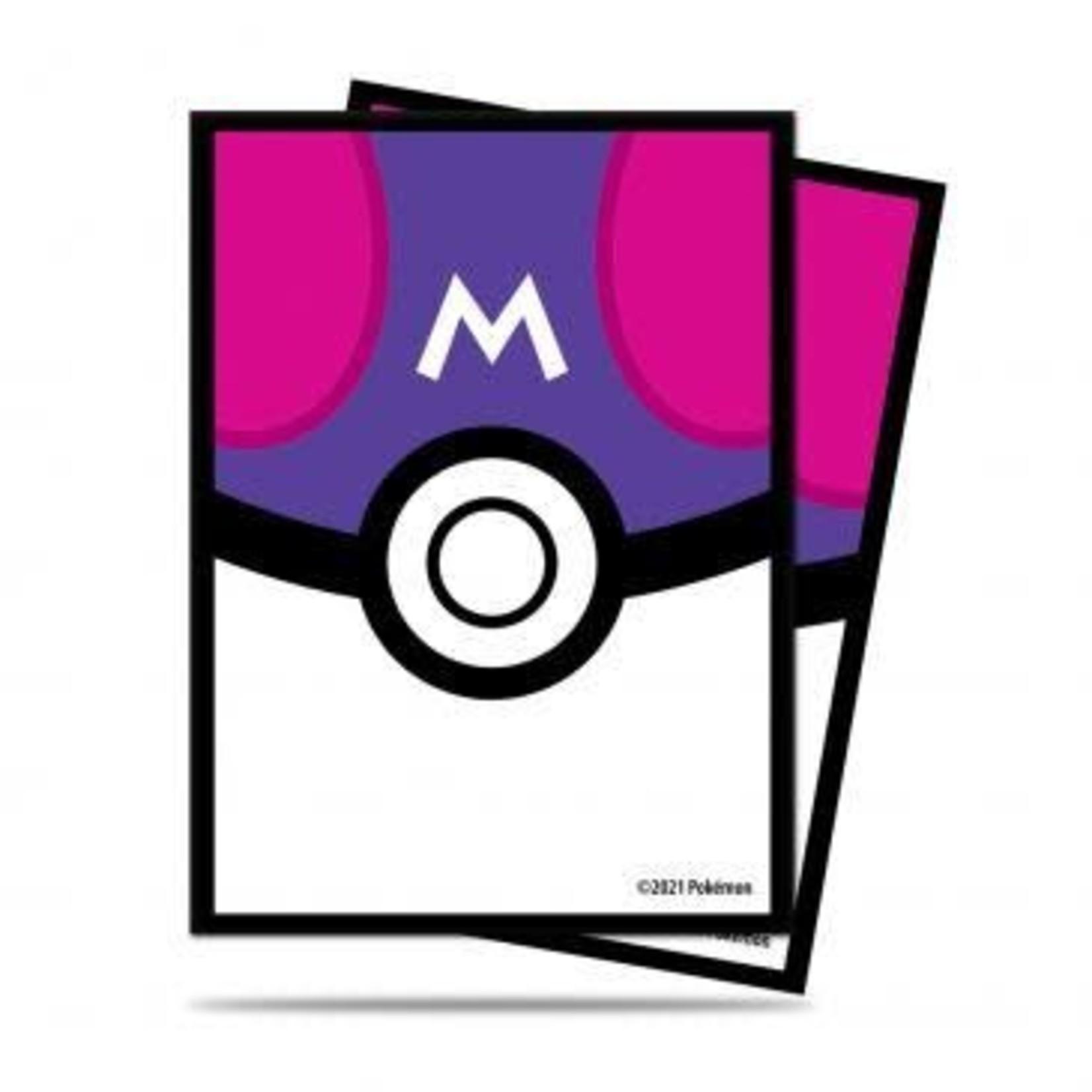 Ultra Pro Card Sleeves Pokemon Masterball Design (65)