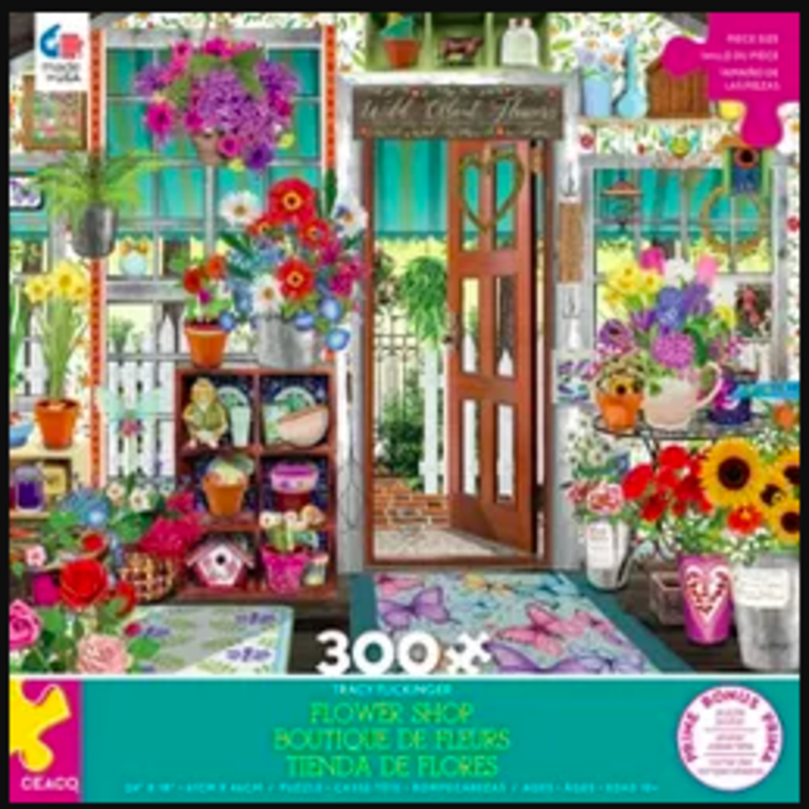 Ceaco Tracy Flickinger Flower Shop (300 pieces)