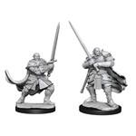 WizKids D&D Minis (unpainted) Half-Orc Paladin Male W15 90307