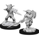 WizKids D&D Minis (unpainted) Goblin M Rogue & F Bard W15 90309