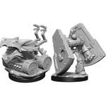 WizKids D&D Minis (unpainted) Stone Defender & Oaken Bolter W15 90314