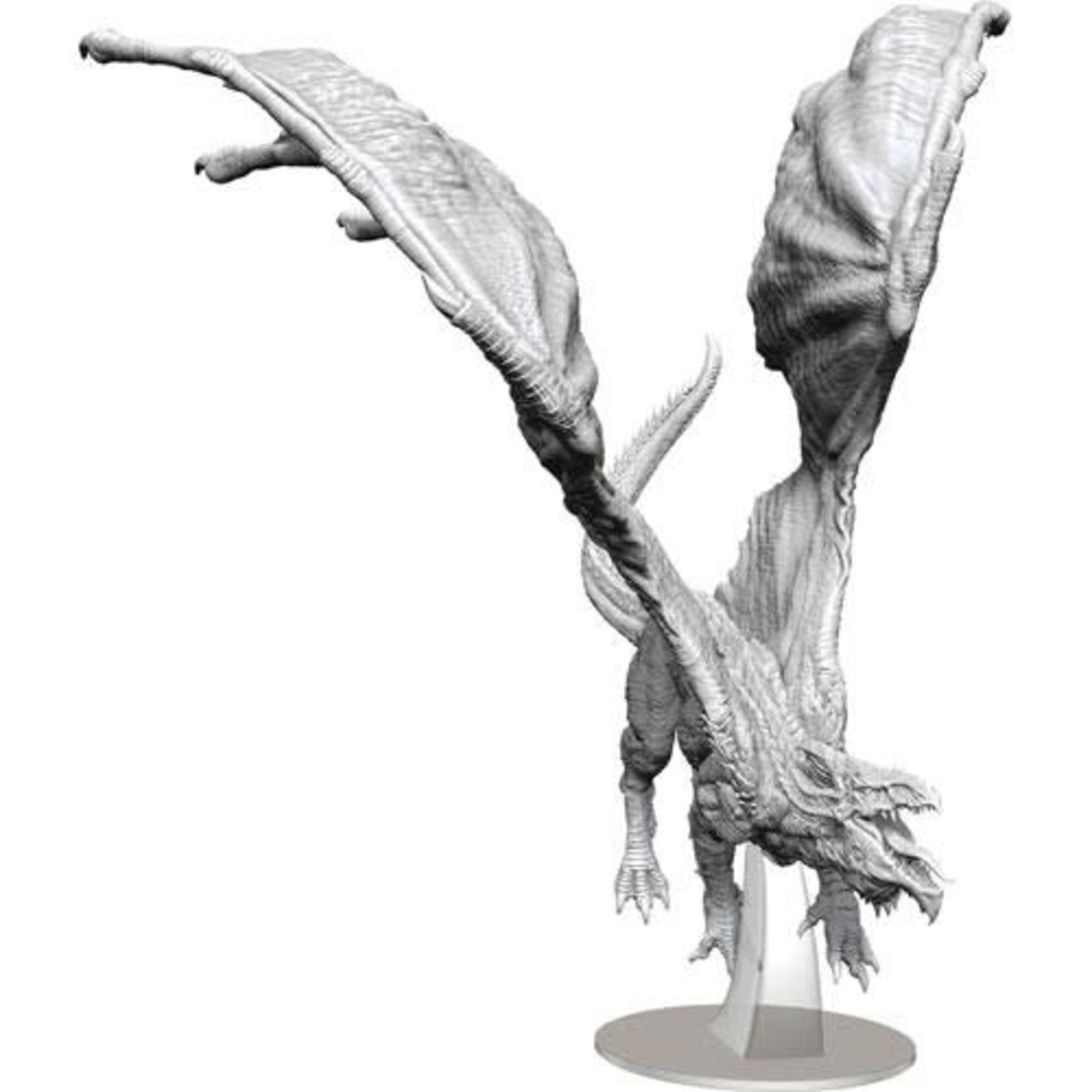 WizKids D&D Minis Unpainted Adult White Dragon W15 90325