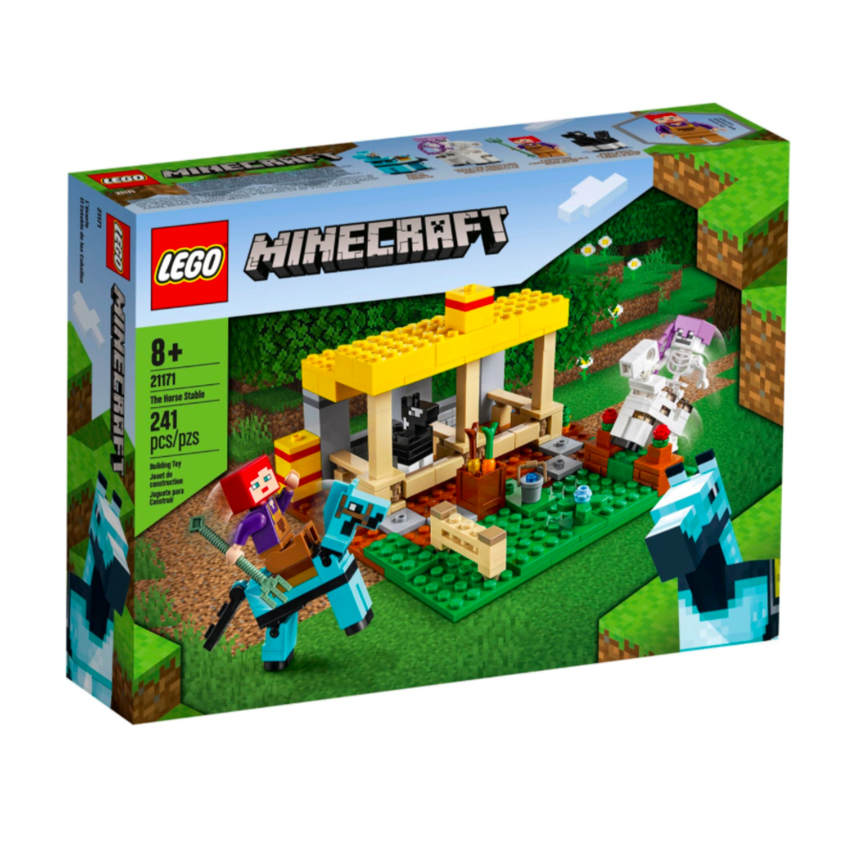 LEGO LEGO Minecraft The Horse Stable