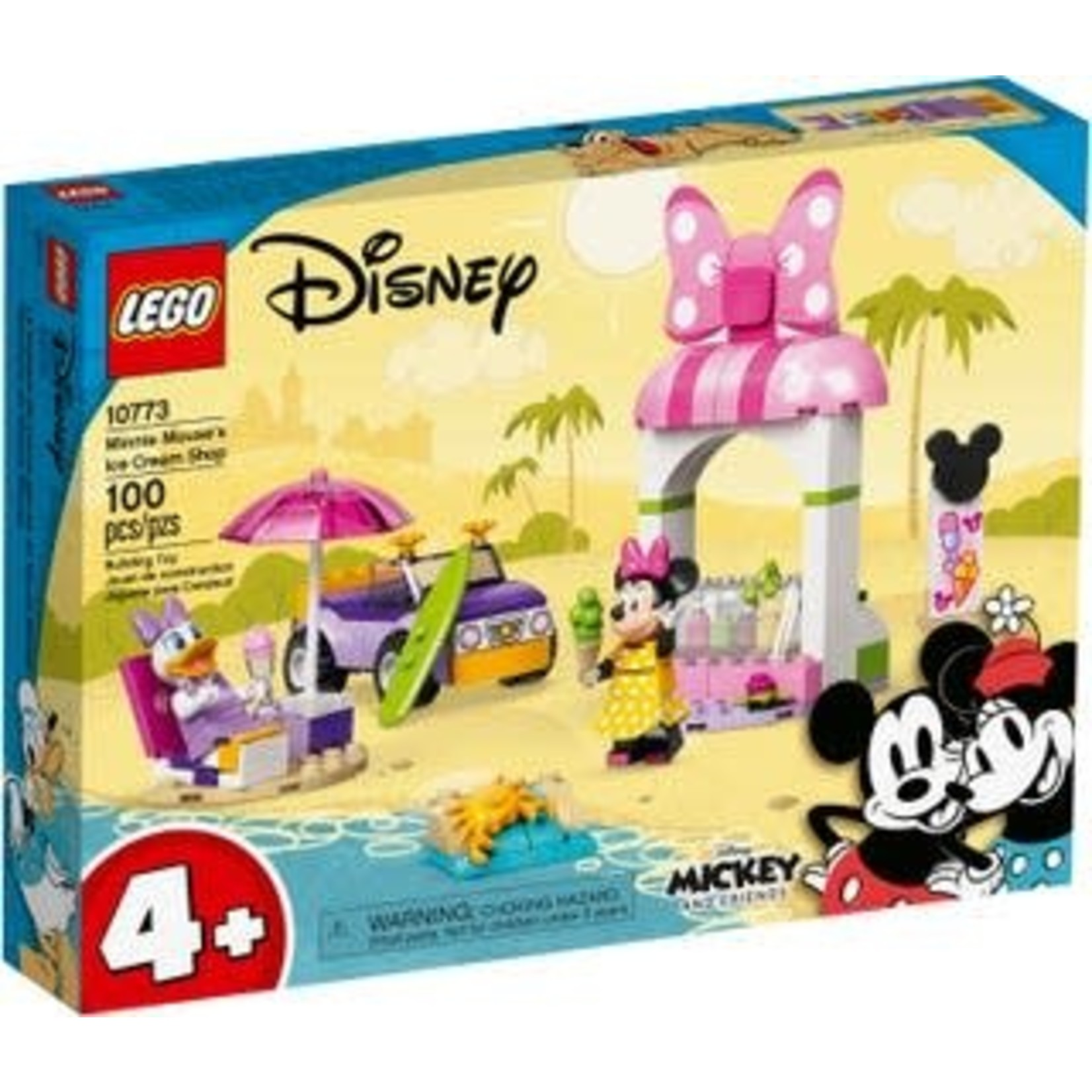 LEGO LEGO Disney Minnie Mouse's Ice Cream Shop