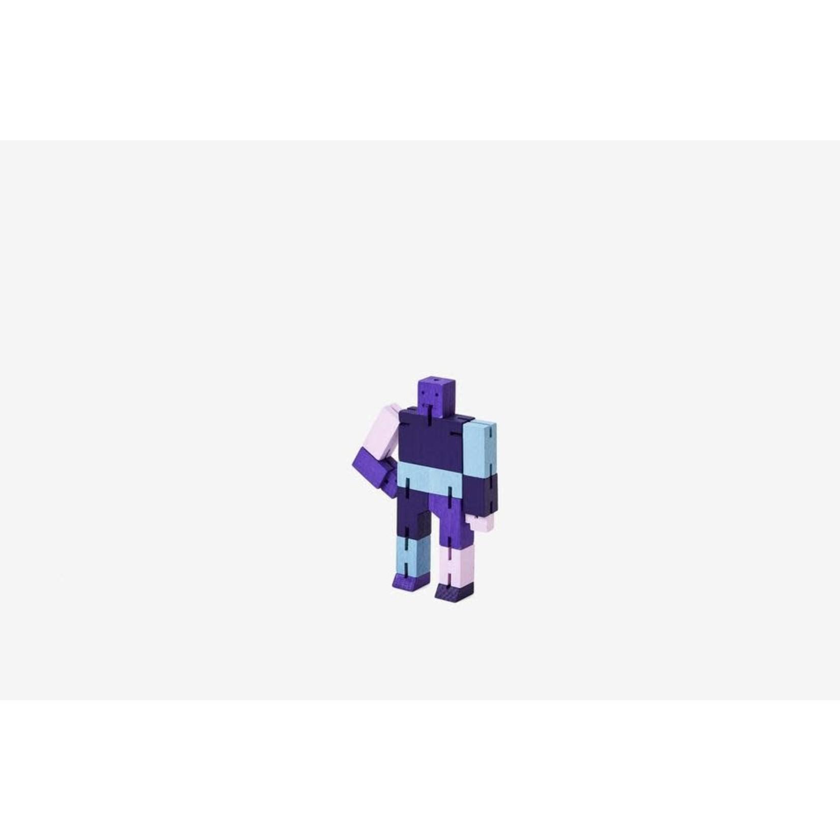 Areaware Cubebot Micro (Purple Multi)