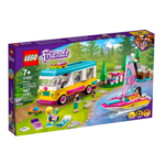LEGO LEGO Friends Forest Camper Van and Sailboat