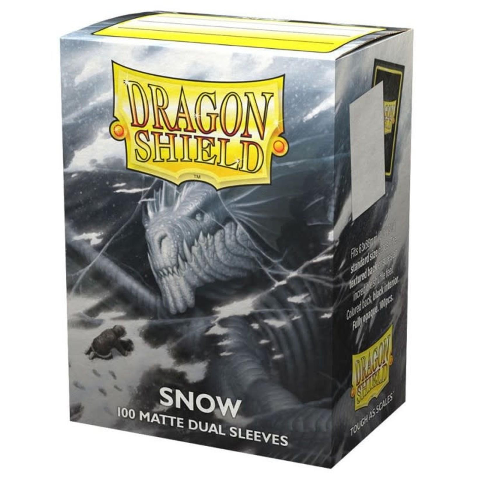 Dragon Shield Card Sleeves Dual Matte Snow (100)