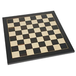 """Wood Expressions Chess Board 15"""" Black Stained 1-5/8"""" Squares"""