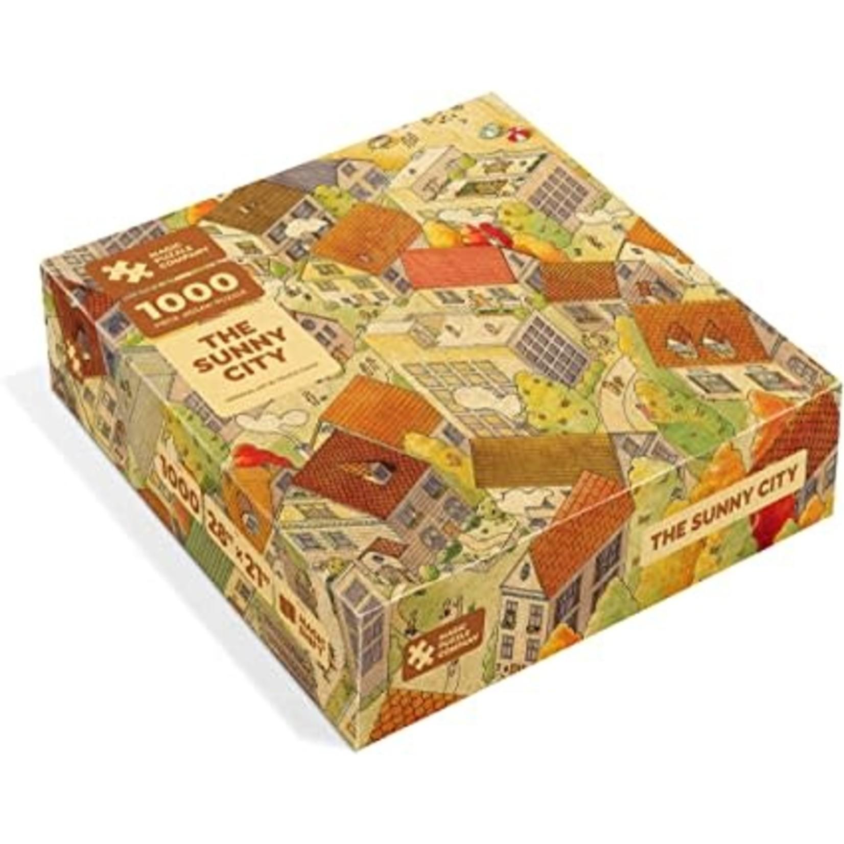 Magic Puzzle Company Magic Puzzle The Sunny City 1000 Piece Jigsaw Puzzle