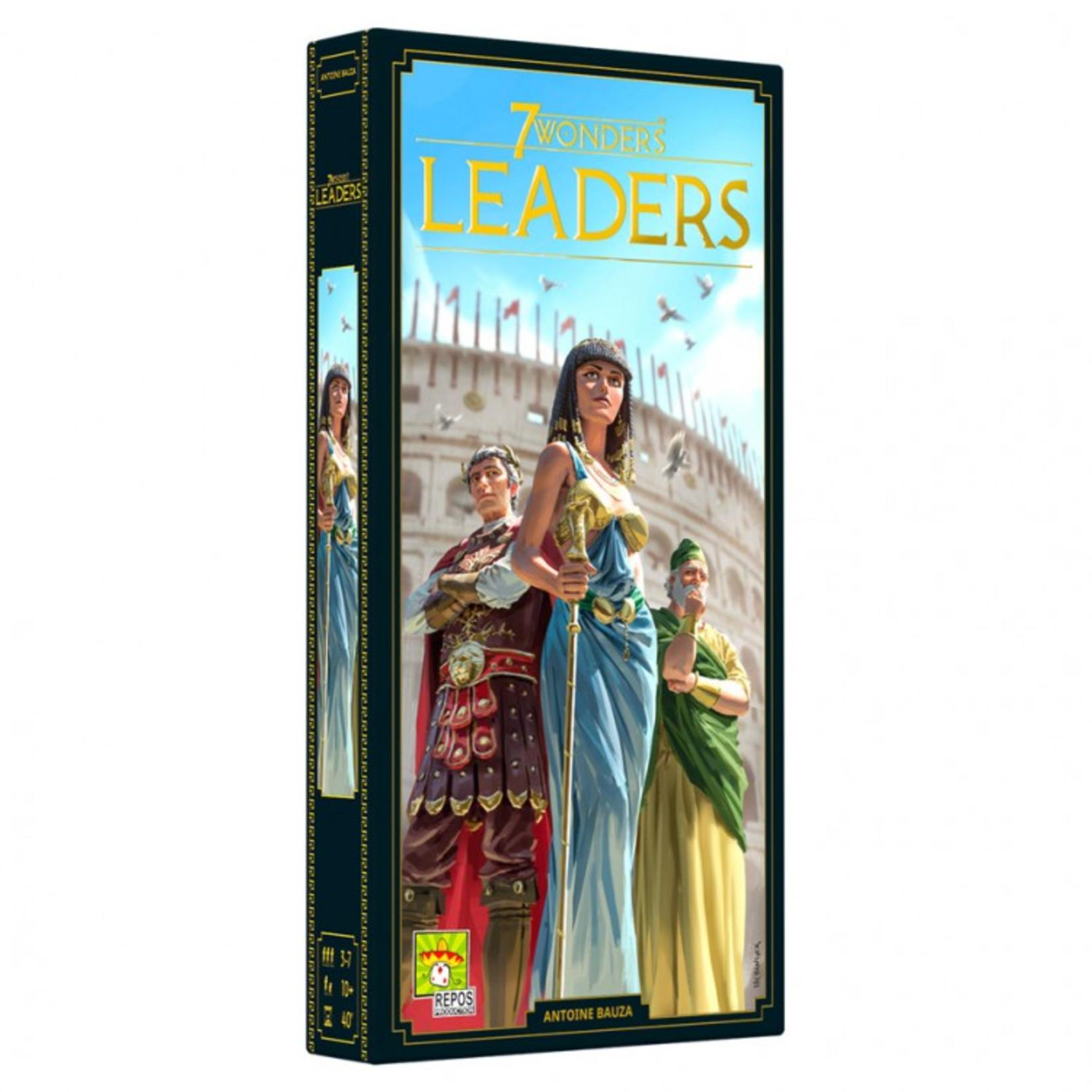 Asmodee 7 Wonders (2019): Leaders Expansion