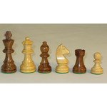 "Worldwise Imports Chess Pieces 3"" German Kikkerwood"