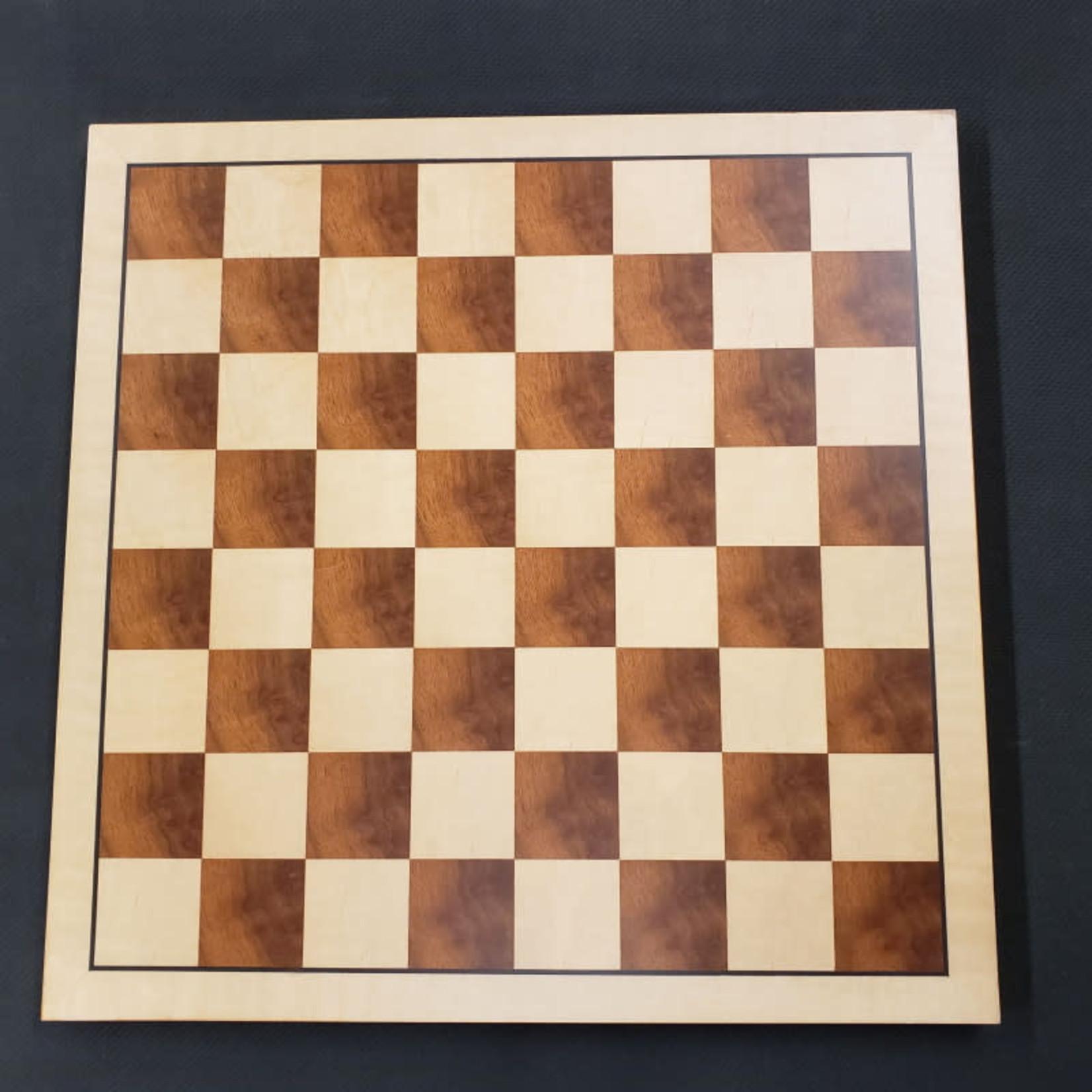 "Wood Expressions Chess Board 16"" Natural/Camphor"