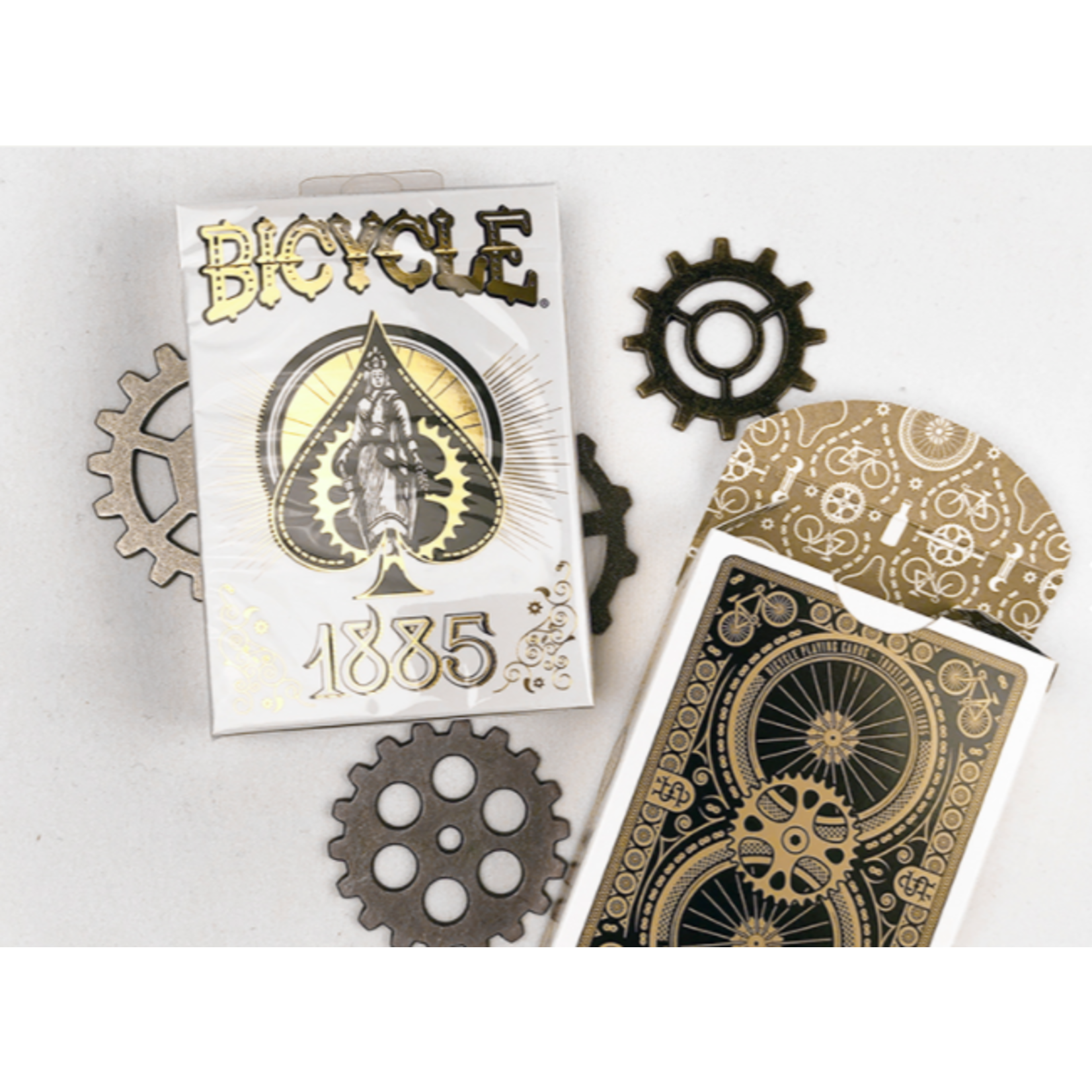 Bicycle Bicycle Playing Cards: 1885