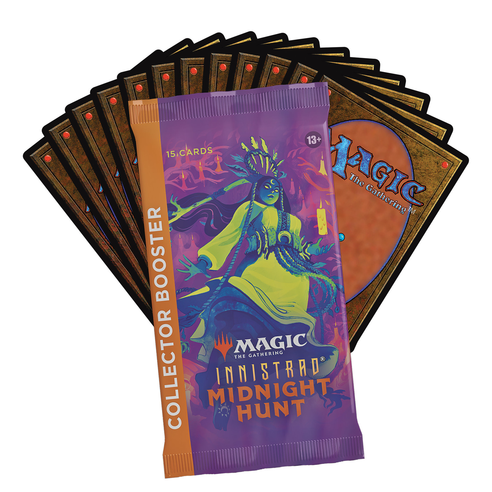 Magic: The Gathering Magic: The Gathering - Innistrad: Midnight Hunt Collector Booster Box