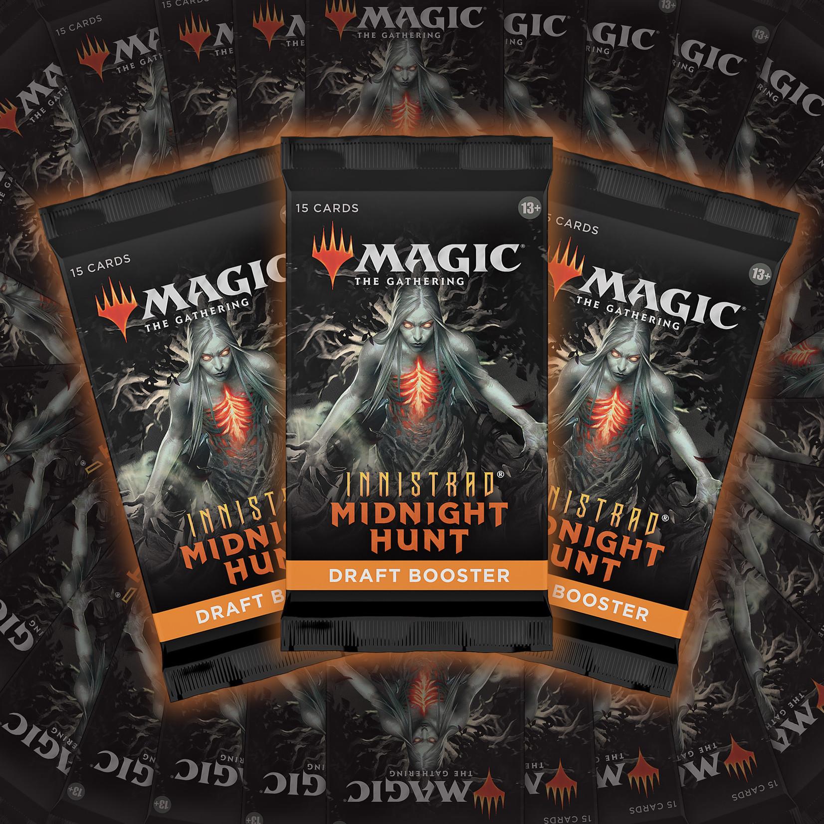Magic: The Gathering Magic: The Gathering - Innistrad: Midnight Hunt Draft Booster Box