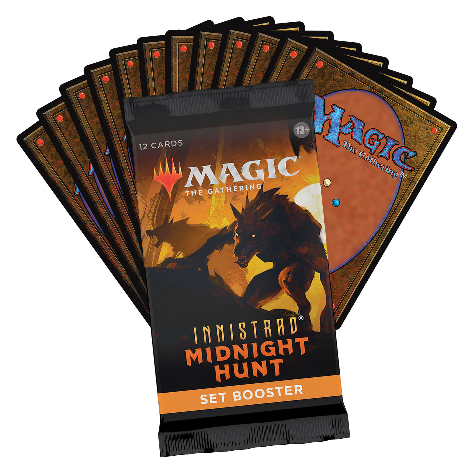 Magic: The Gathering Magic: The Gathering - Innistrad: Midnight Hunt Set Booster Pack