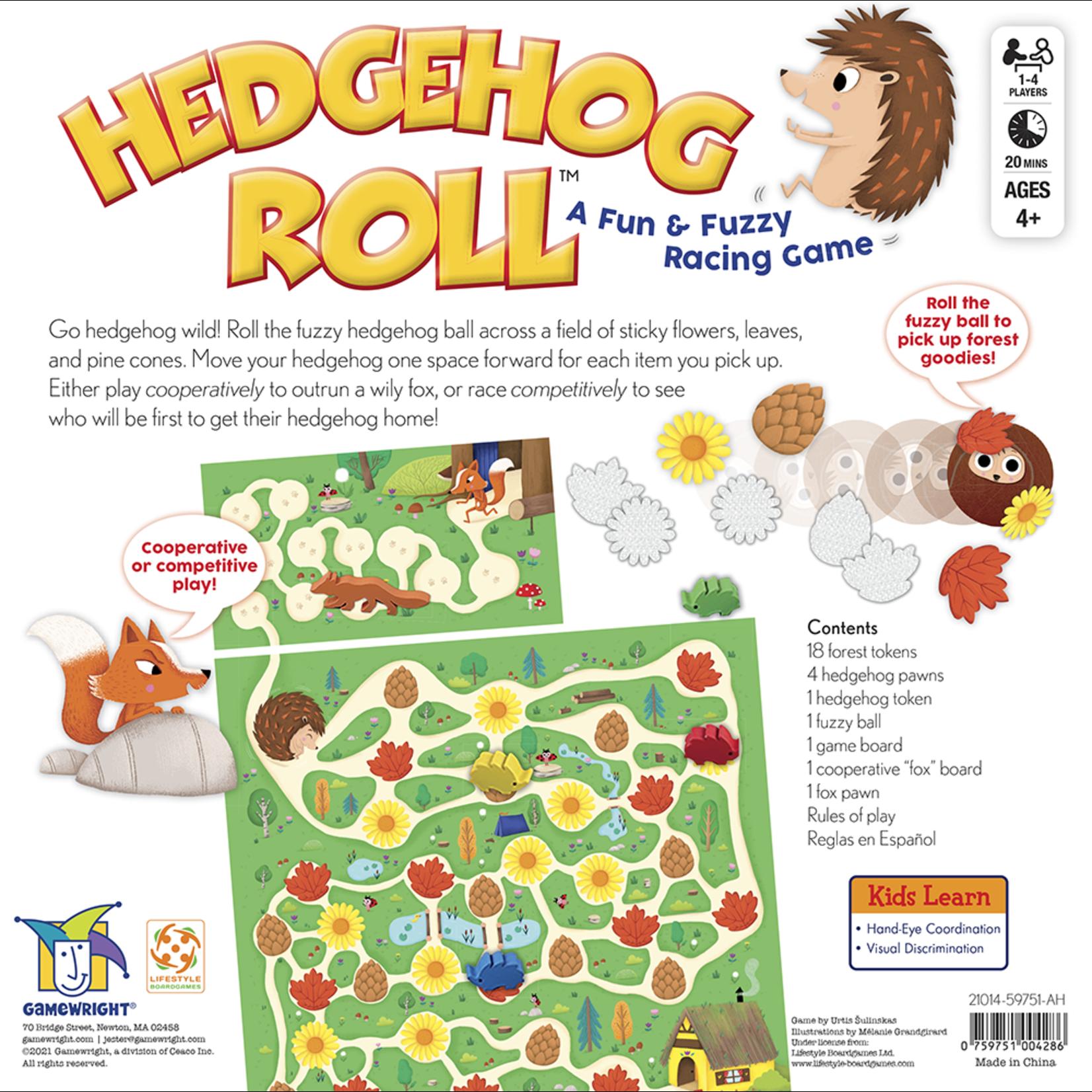 Gamewright Hedgehog Roll: A Fun & Fuzzy Racing Game