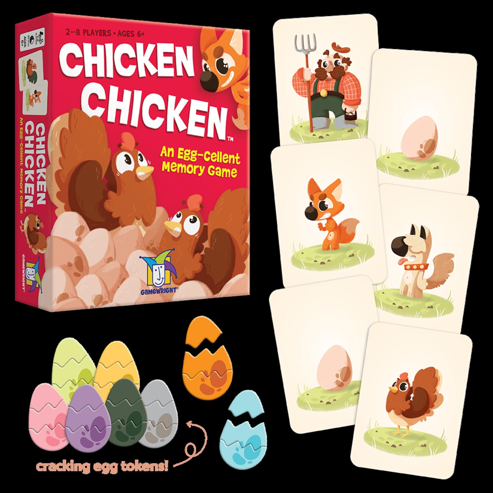 Gamewright Chicken Chicken: An Egg-cellent Memory Game