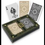 Kem Kem Plastic Black & Gold Playing Cards