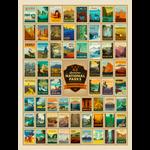 True South Puzzle National Parks Jigsaw Puzzle (500p)