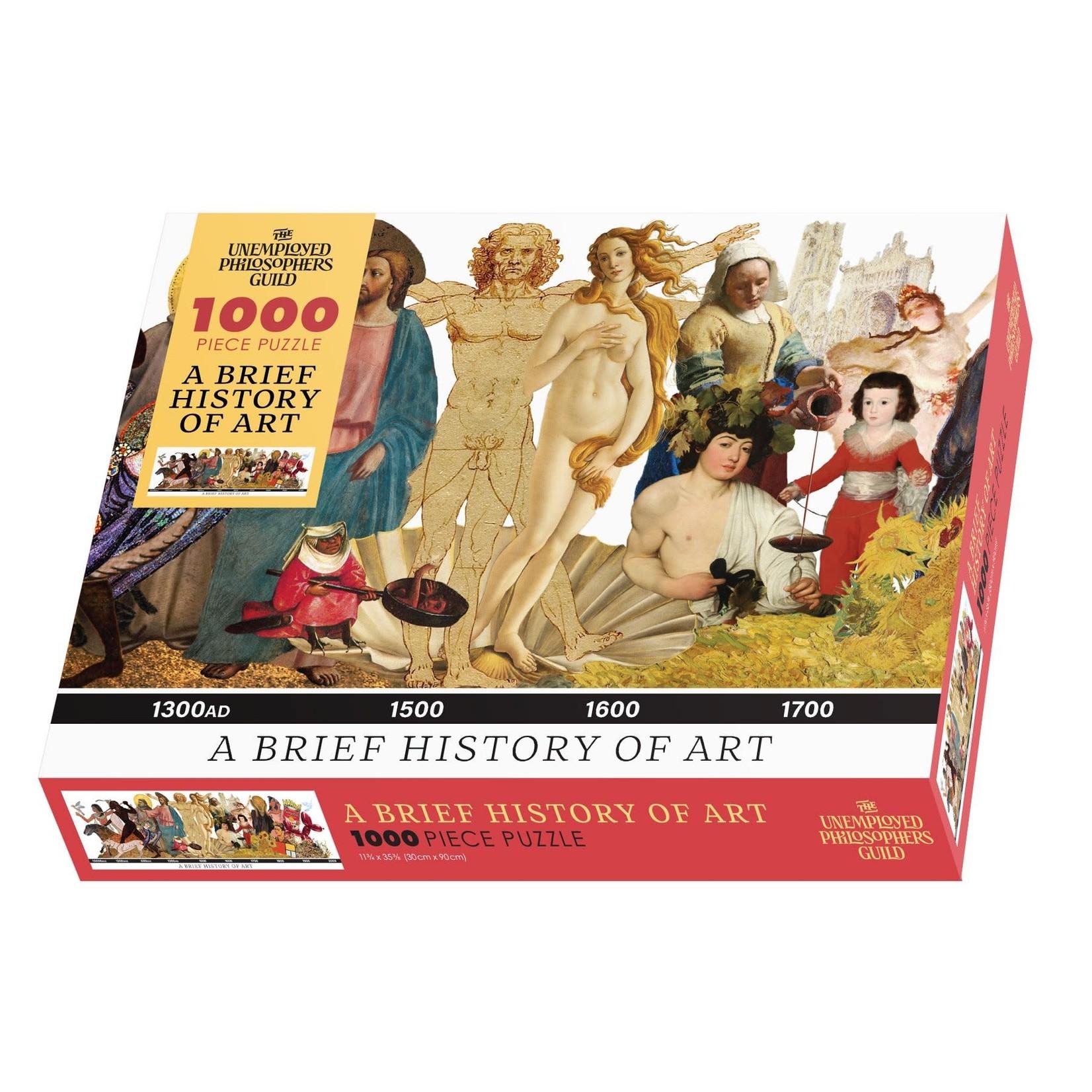 A Brief History of Art Puzzle (1000 pieces)