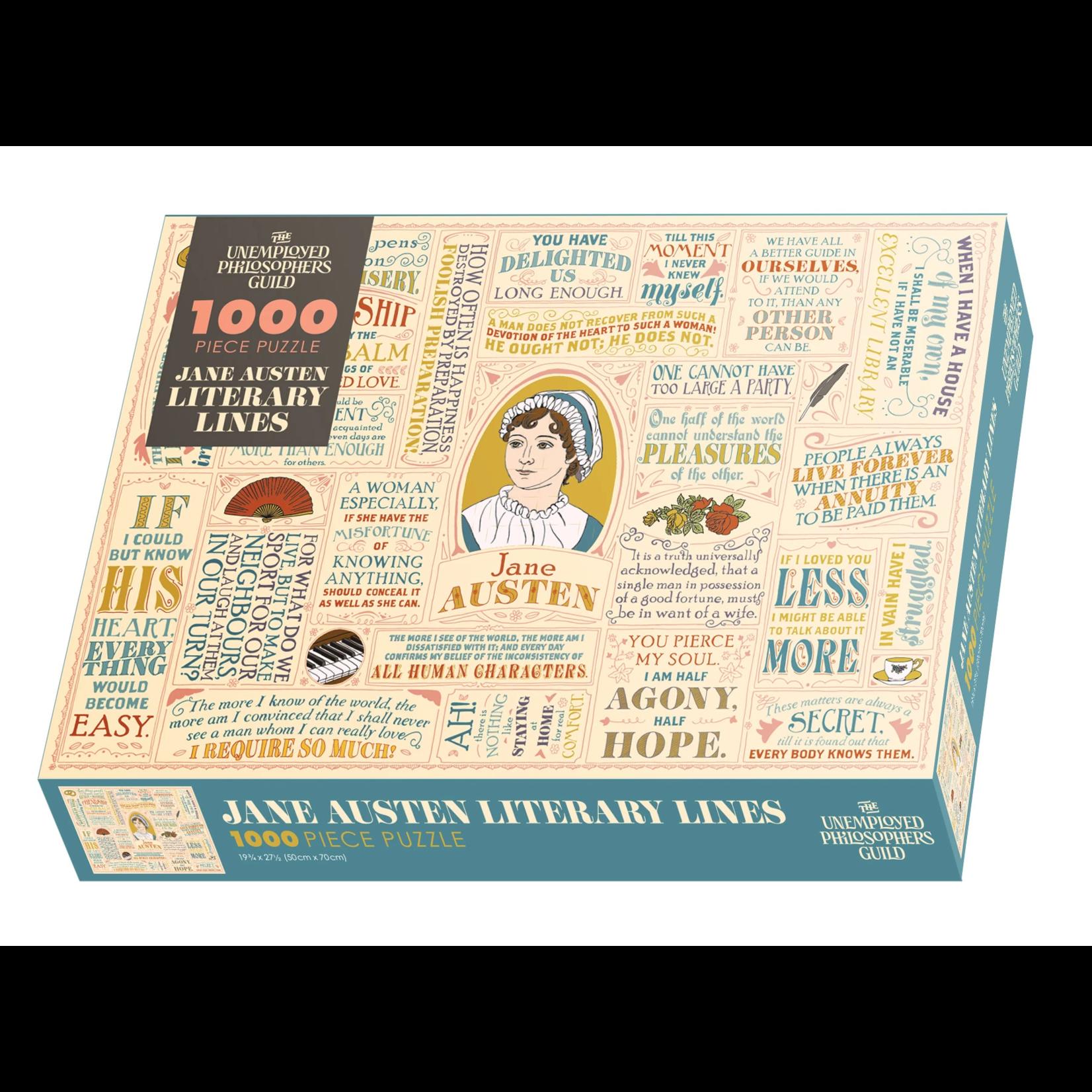 The Unemployed Philosophers Guild Jane Austen Puzzle (1000 pieces)