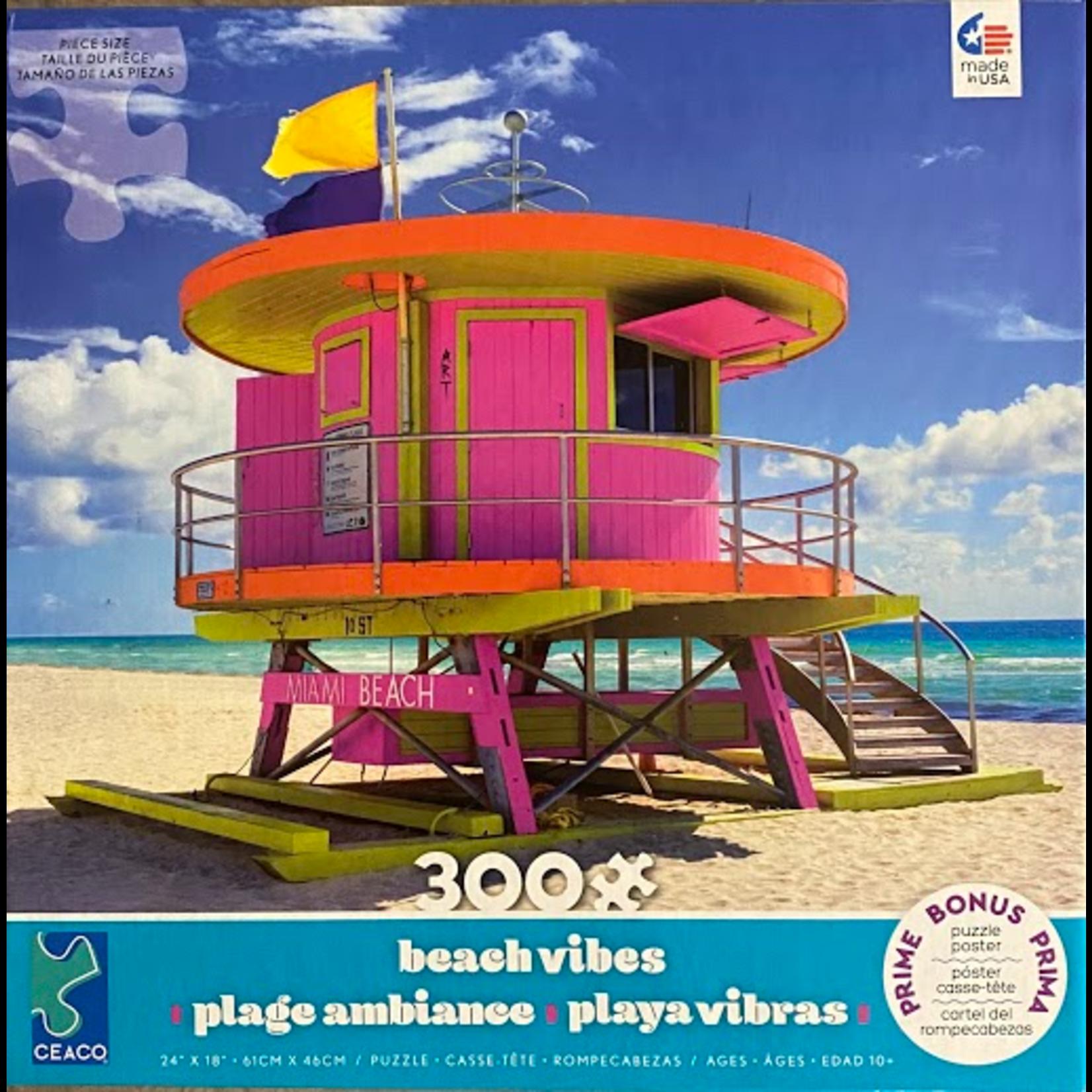 Ceaco Beach Vibes Puzzle - Miami (300 pieces)