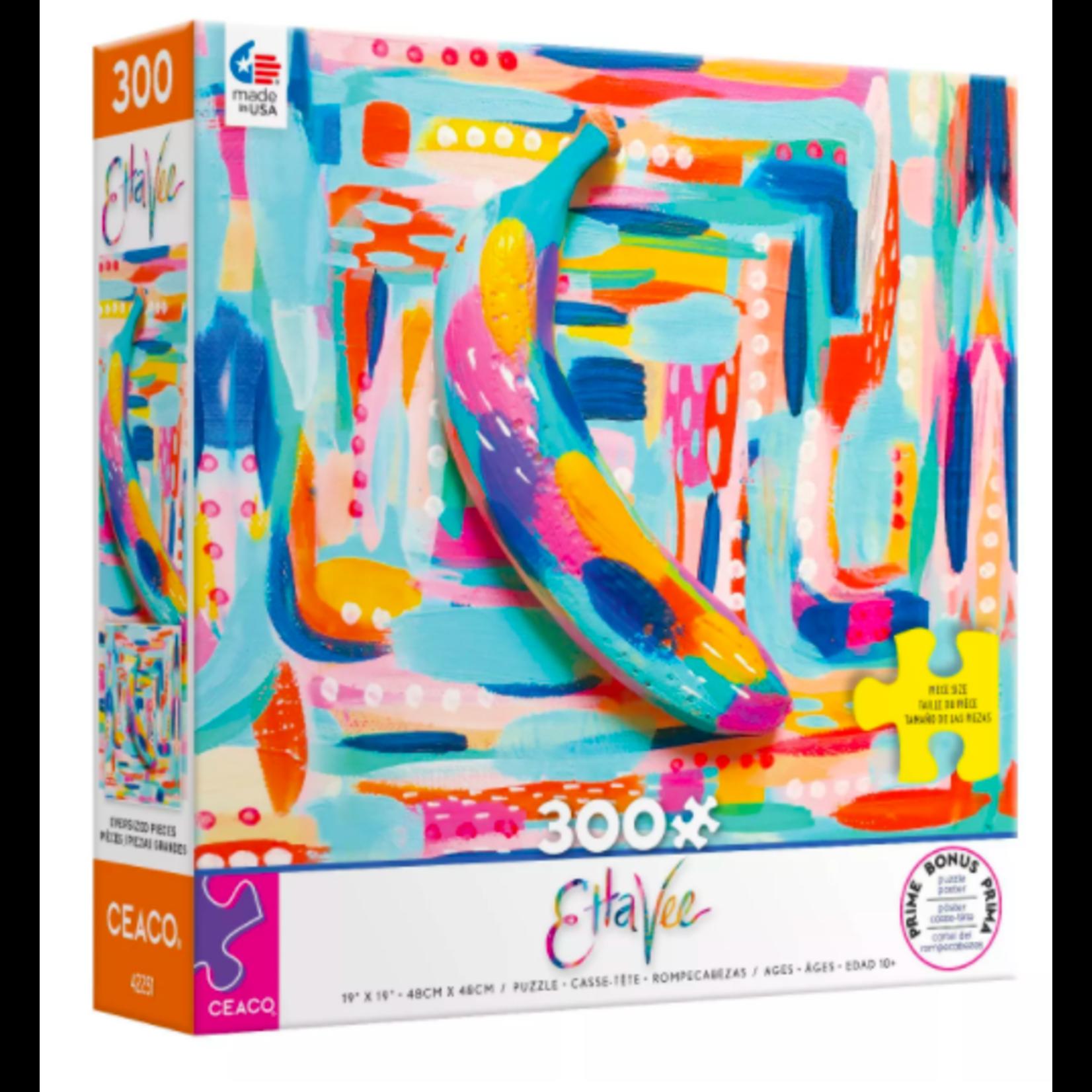 Ceaco Etta Vee Banana Puzzle (300 pieces)