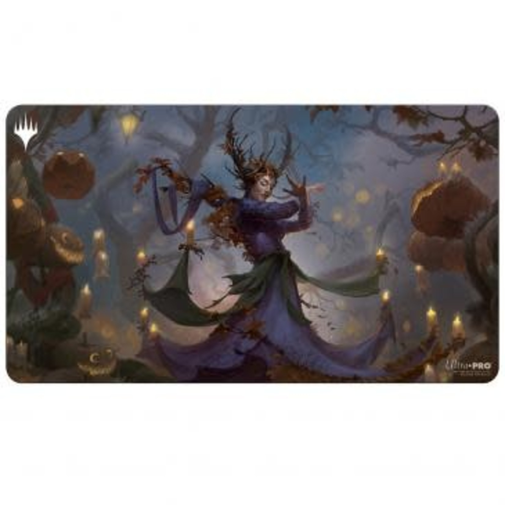 Ultra Pro Magic: The Gathering - Innistrad: Midnight Hunt Playmat Commander V2 featuring Leinore, Autumn Sovereign
